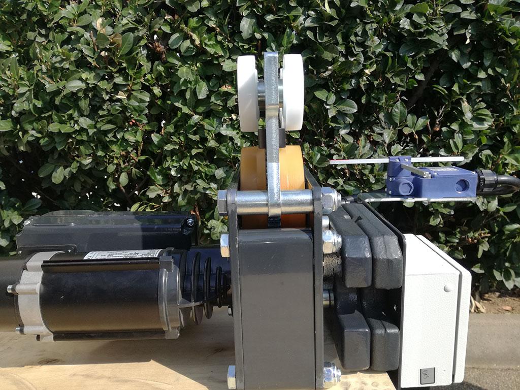 SWF LIGHTster carrello elettrico per canalina in alluminio