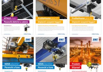 Nuovi flyer di prodotto SWF disponibili